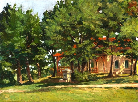 39 Слави Генев - Църква под дърветата
