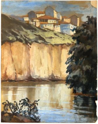 48 Христо Каварналиев - Село на стръмен бряг