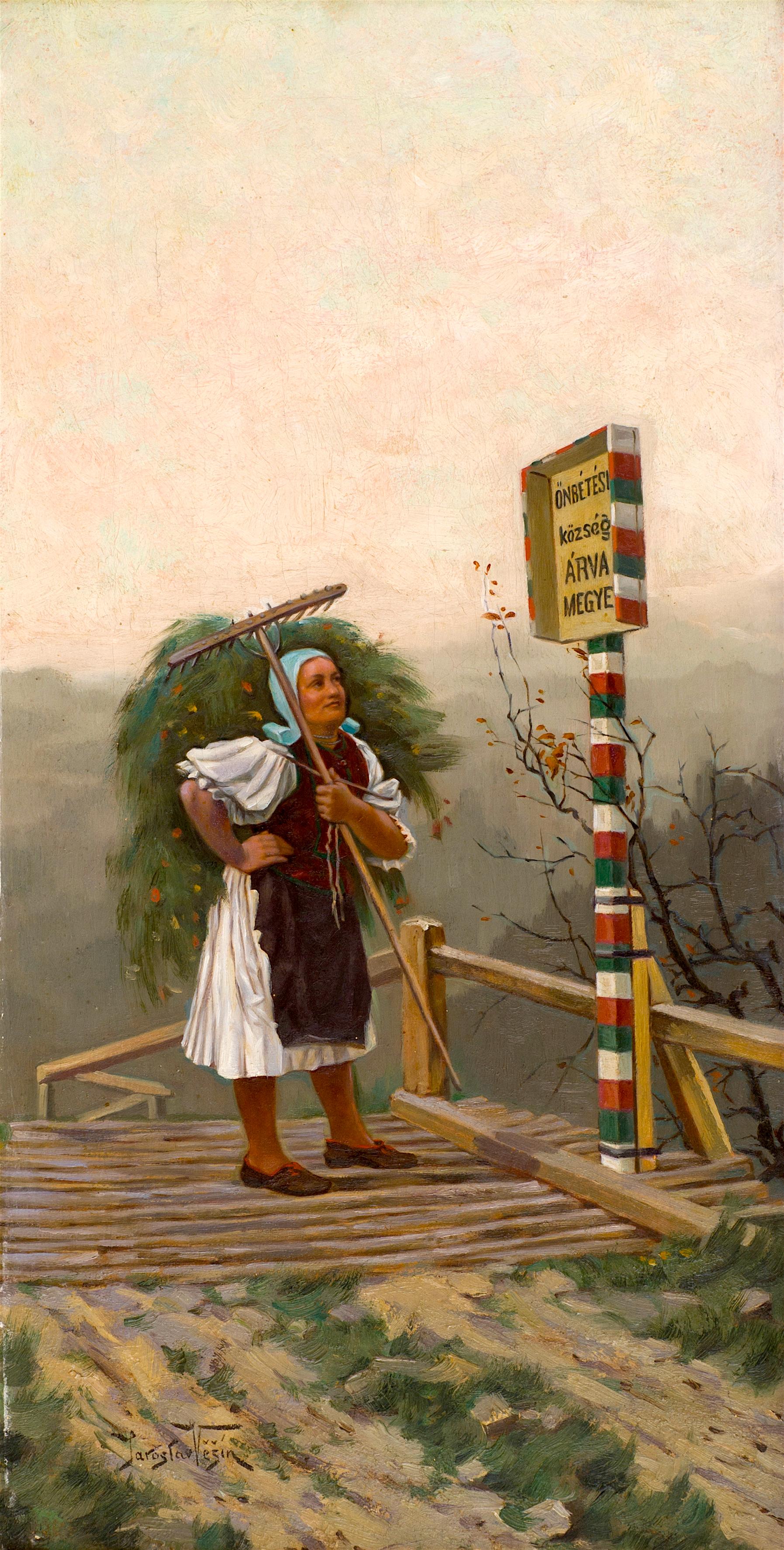 100 Ярослав Вешин - Жена на мост