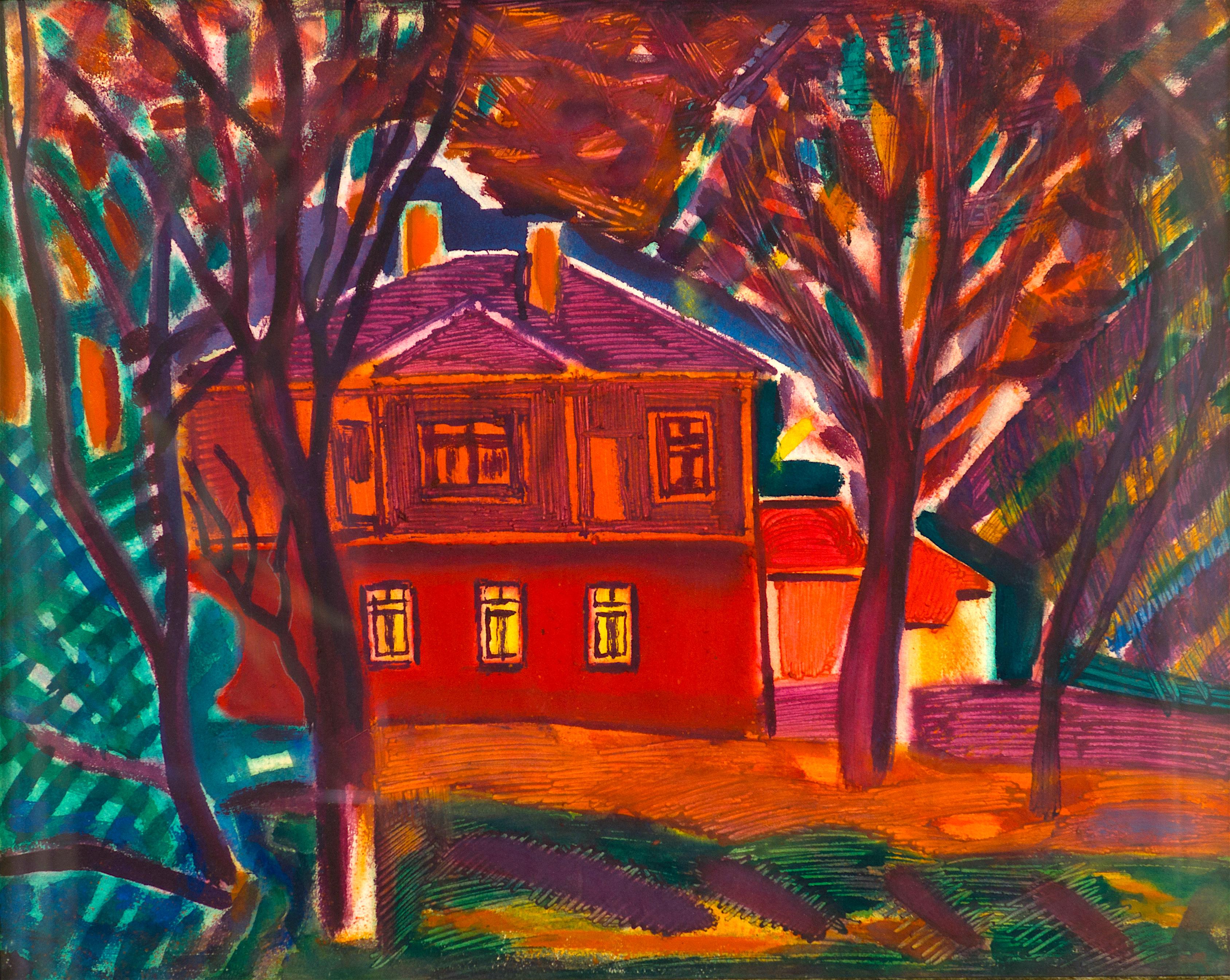 11 Генко Генков - Пейзаж с къща