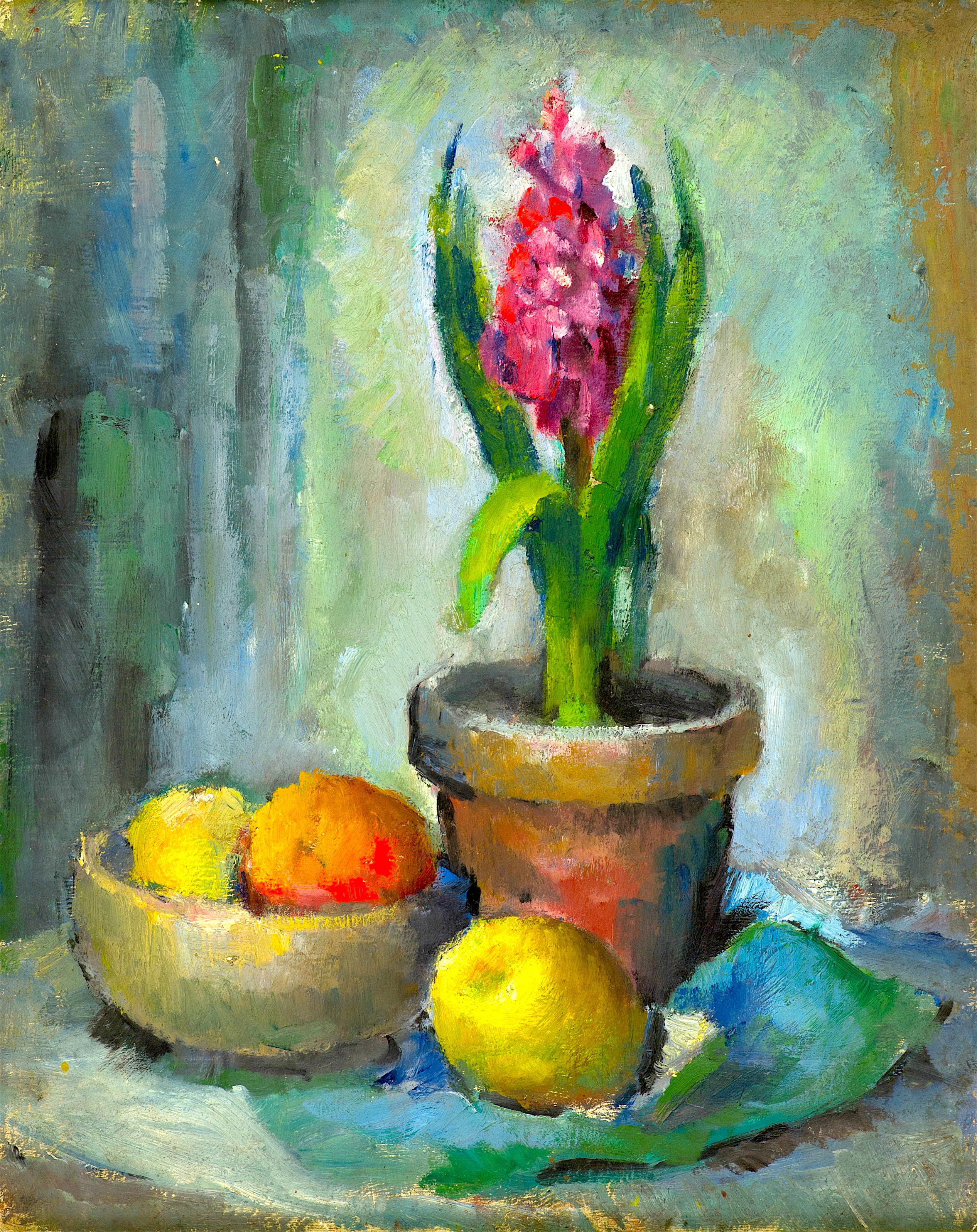 14 Тодорка Бурова - Натюрморт с плодове