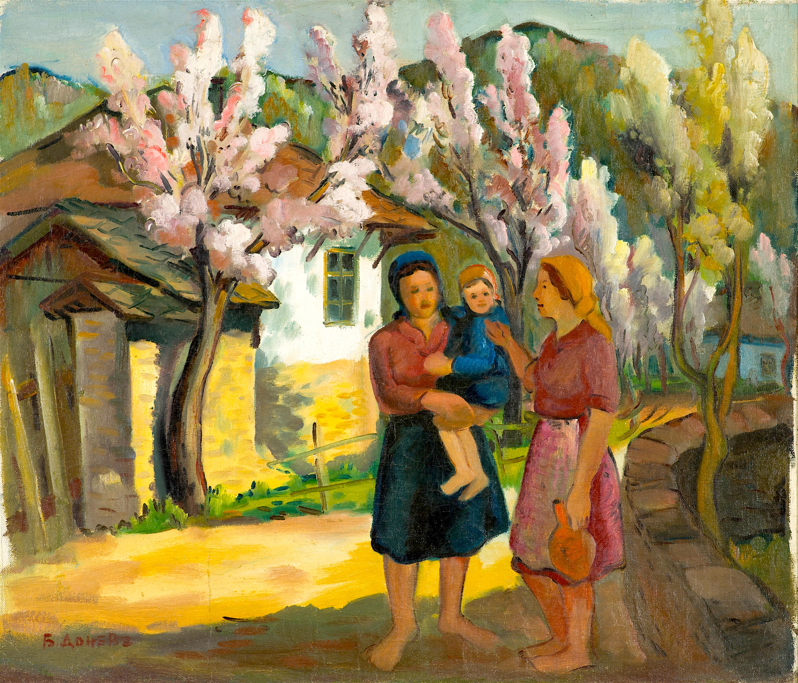 37 Бочо Донев - Цъфнали дървета