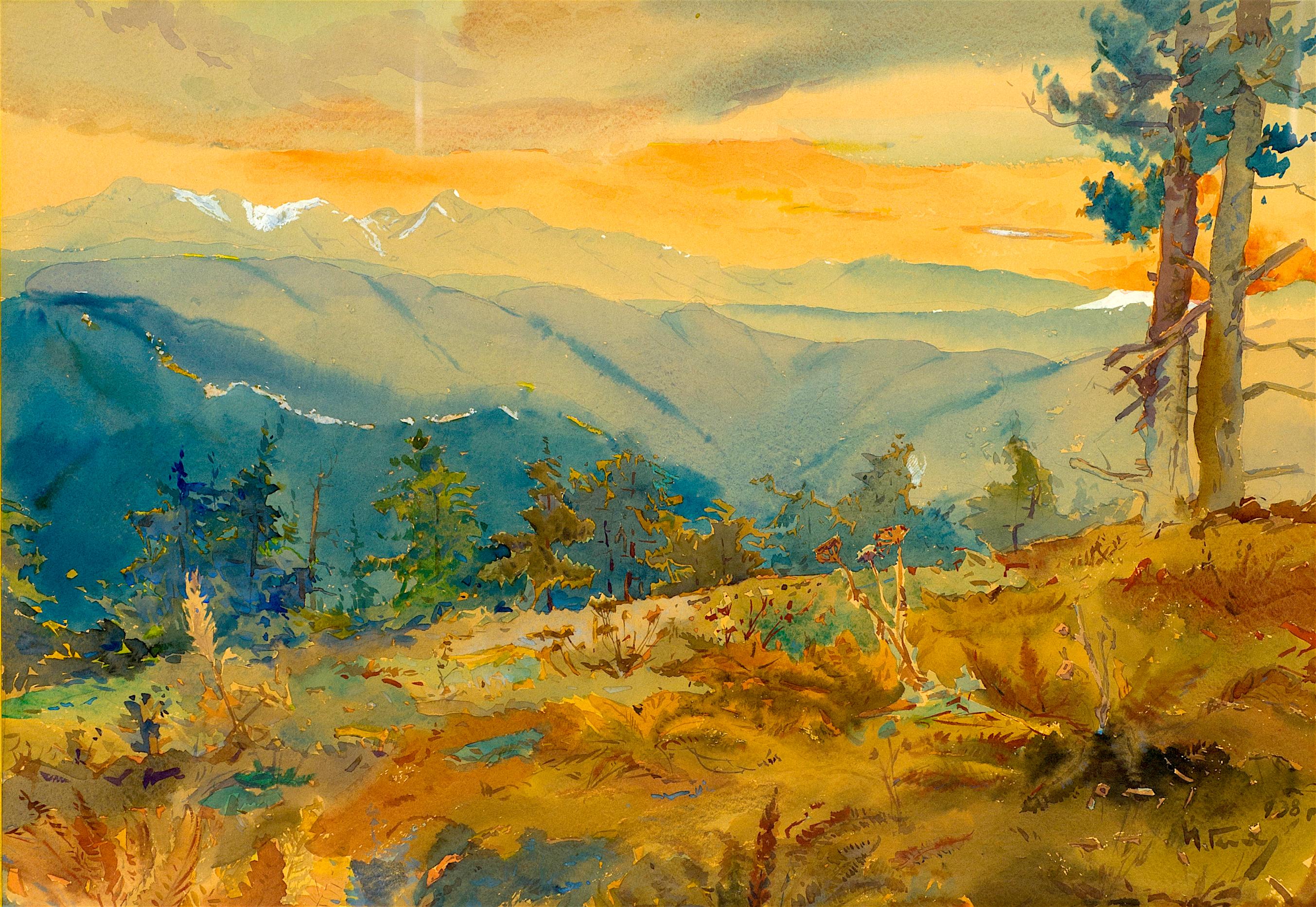 43 Йордан Гешев - Планински пейзаж