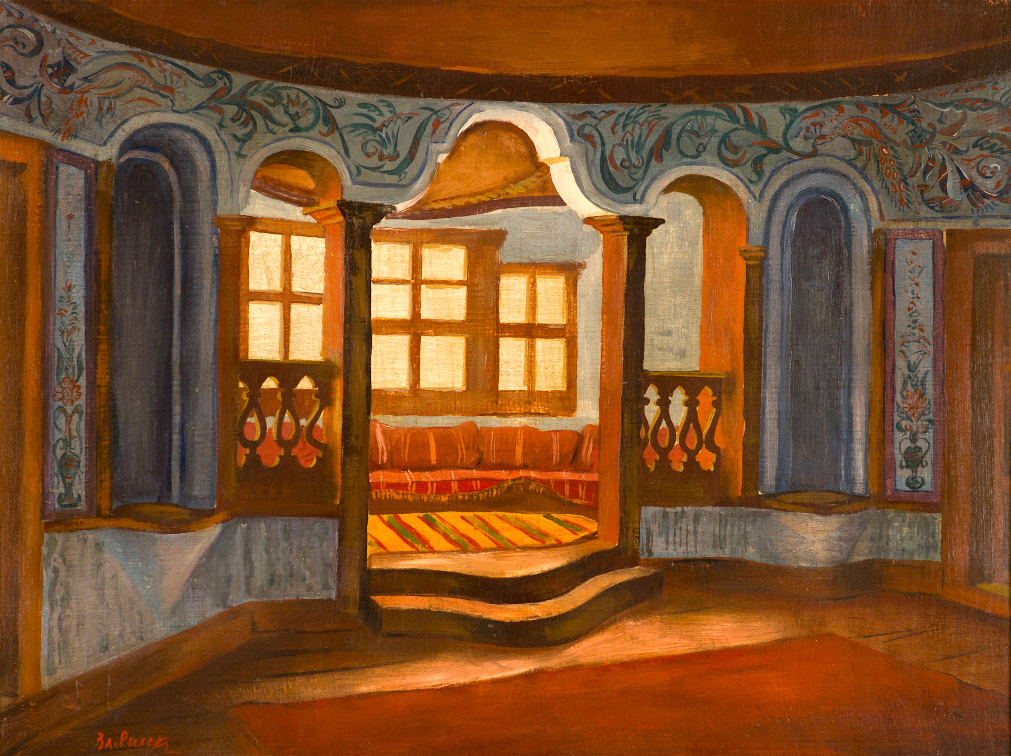 66 Владимир Рилски - Интериор на копривщенска къща