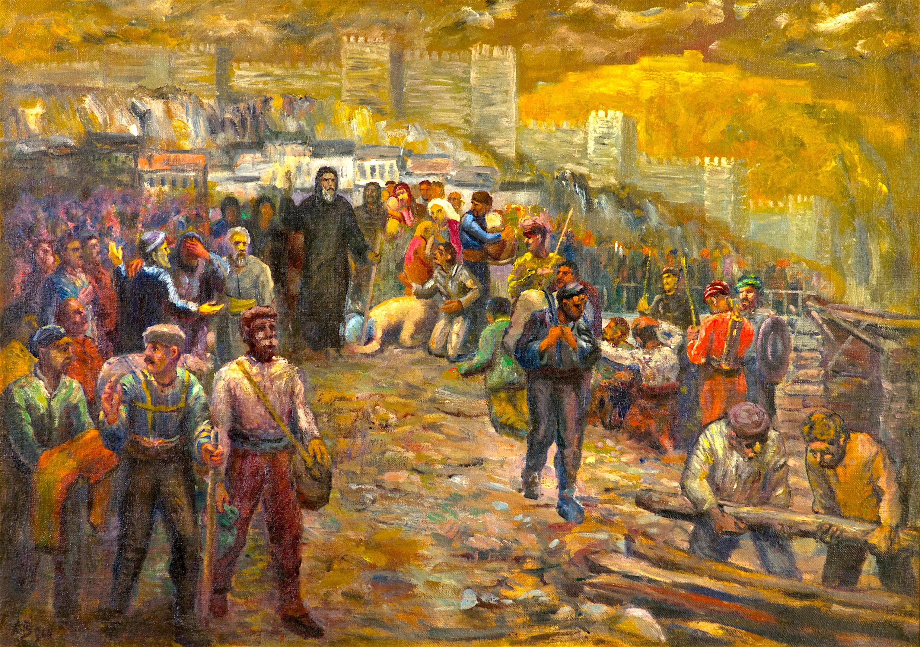81 Асен Василиев - Патриарх Евтимий в Търново