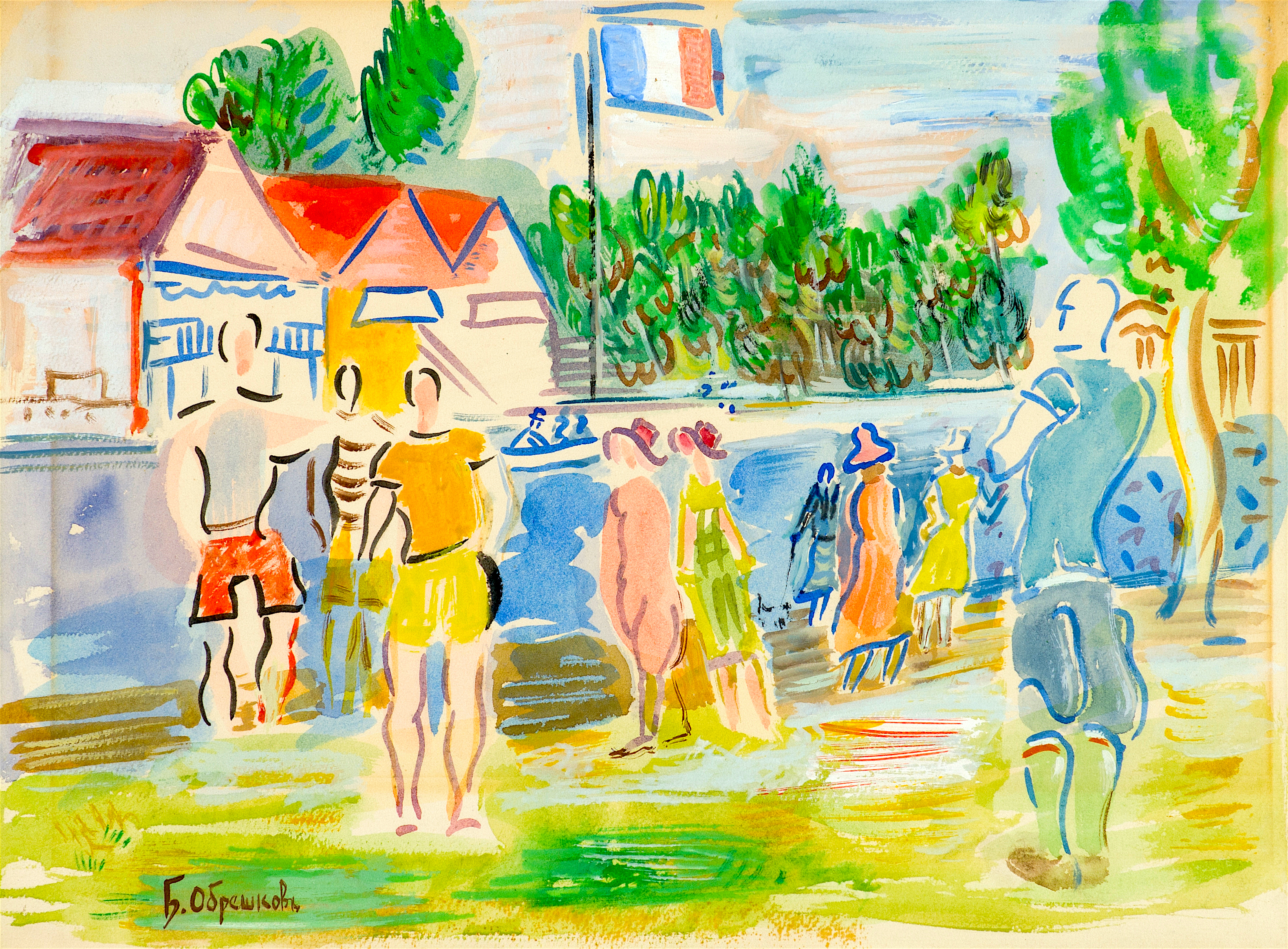92 Бенчо Обрешков - Из Франция