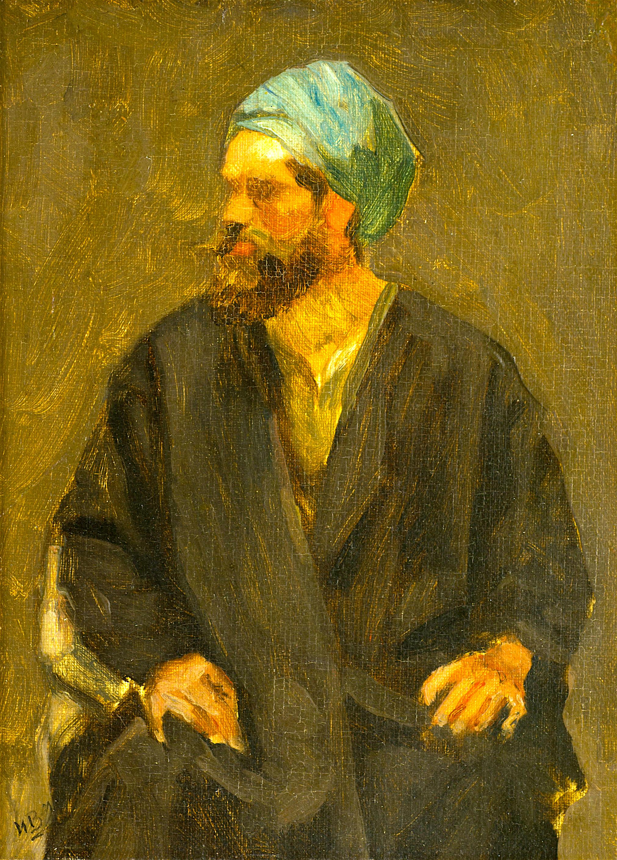 98 Иван Мърквичка- Портрет на мъж с чалма
