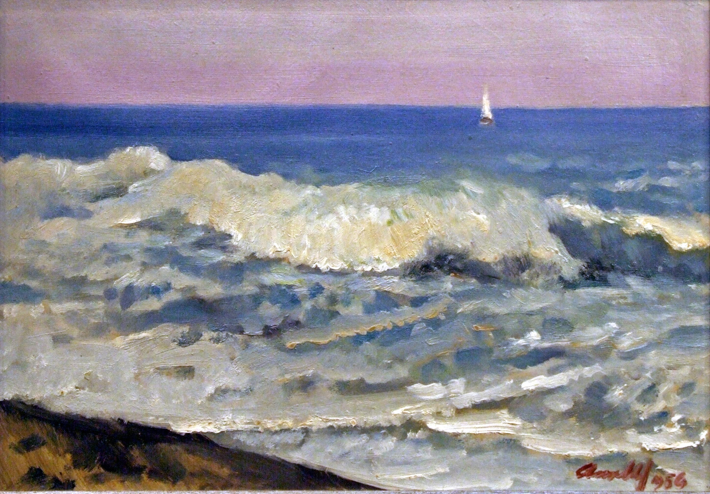 Атанас Михов, Море