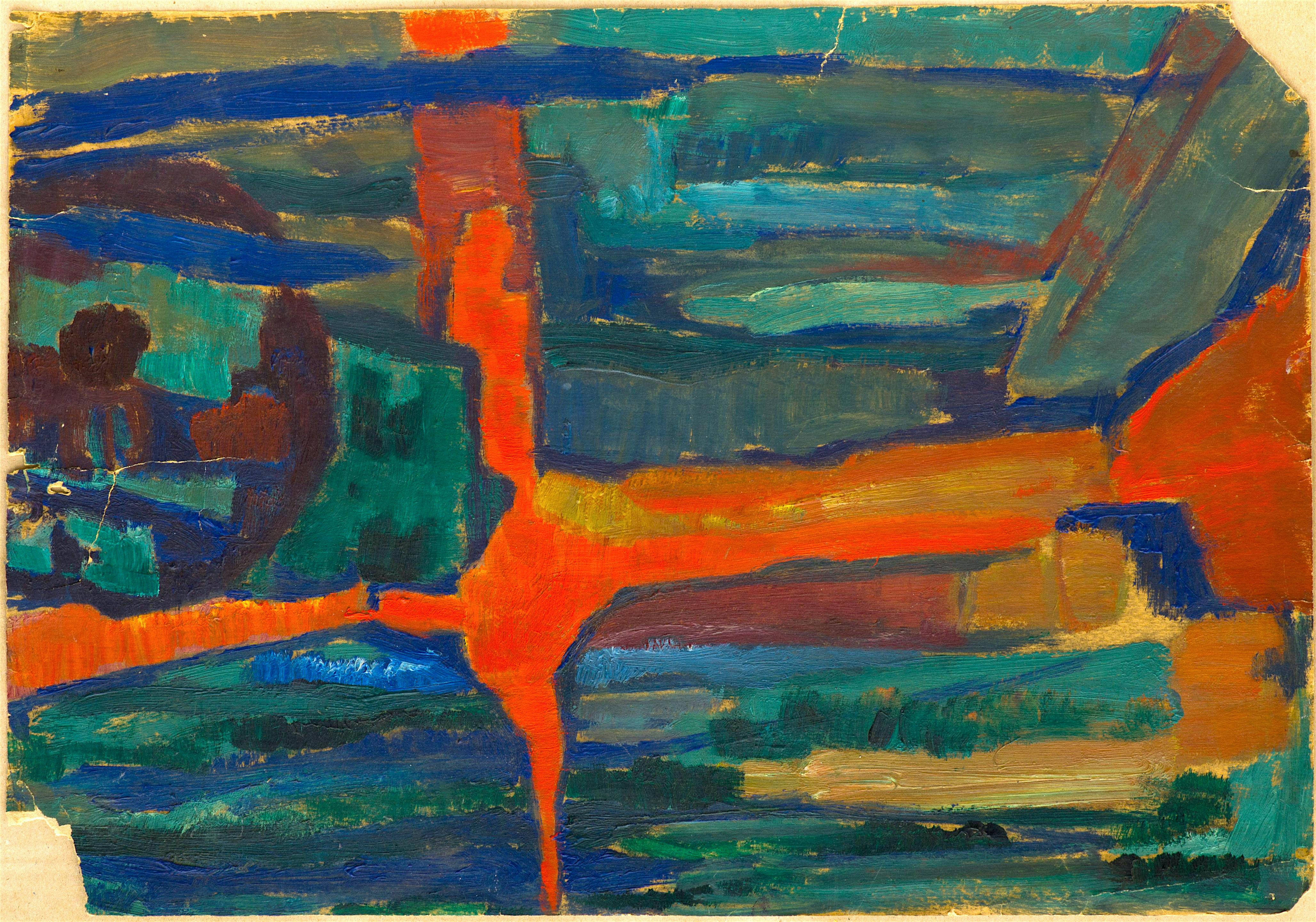 Лика Янко - абстрактен пейзаж