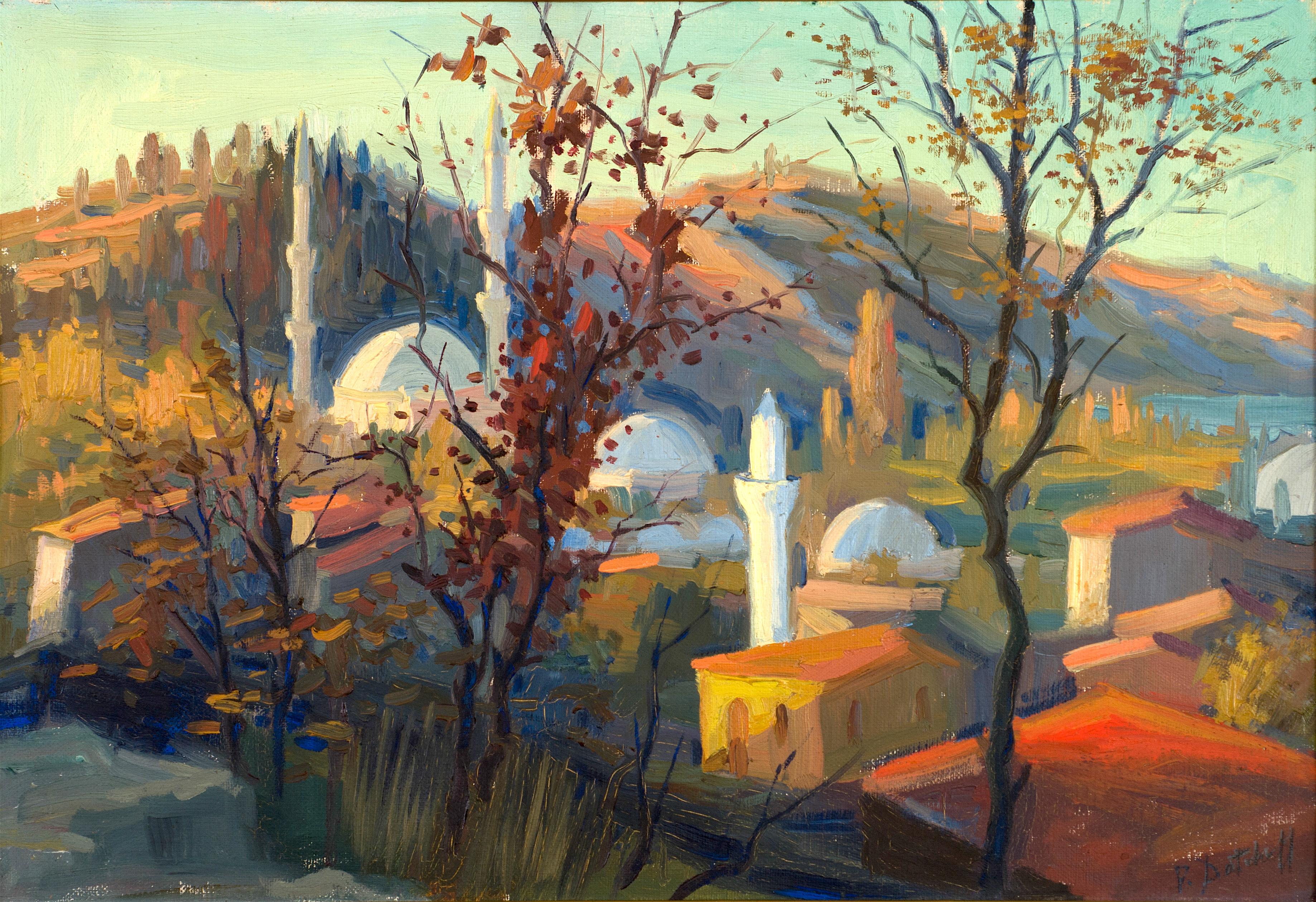 Петър Дачев - Цариград, местността Еюб