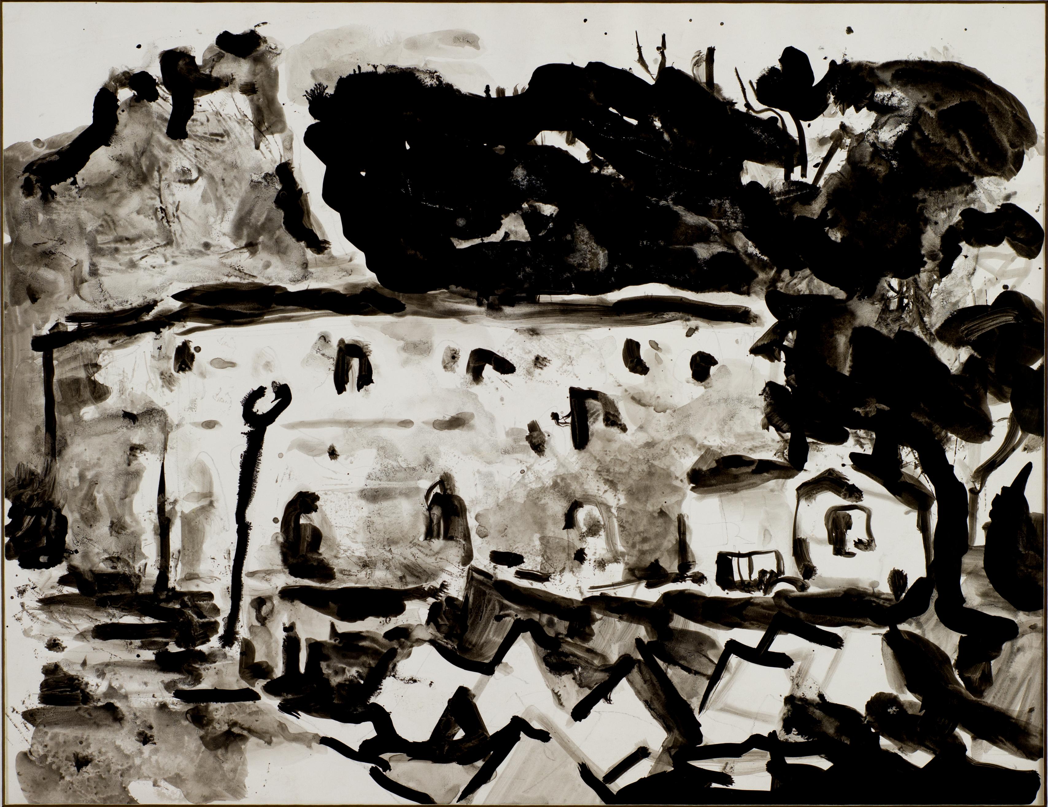 Найден Петков, Пейзаж от Мелник