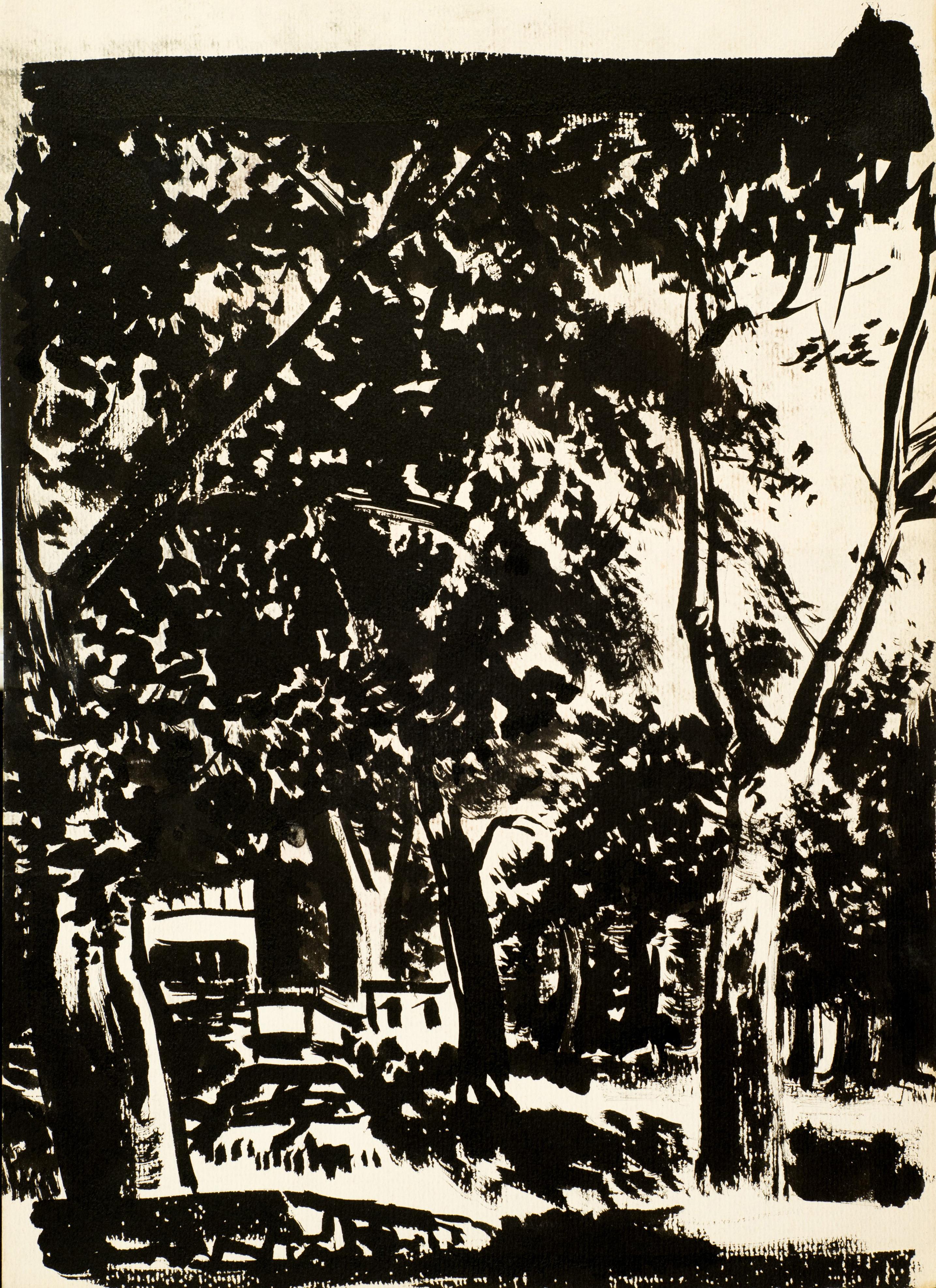 Славка Денева, Къща под дървета